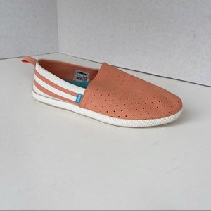 Native Venice slip on sneakers coral dusty pink 9